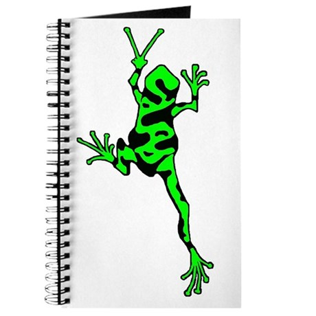 Green Peace Frog Journal