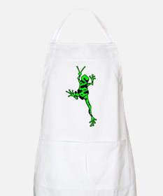 Green Peace Frog Apron