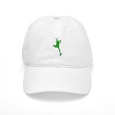 Green Peace Frog Baseball Baseball Cap