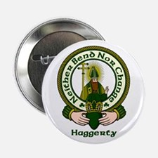 "Haggerty Clan Motto 2.25"" Button (10 pack)"