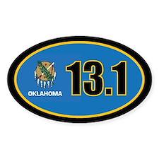 Oklahoma State Half Marathon 13.1 Decal