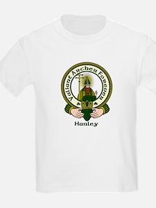 Hanley Clan Motto Kids T-Shirt