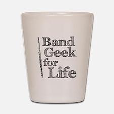 Flute Band Geek Shot Glass
