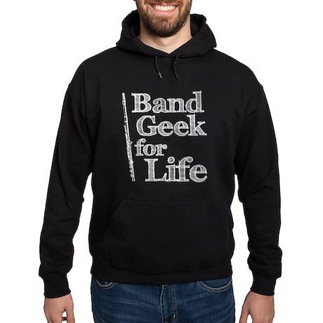 Flute Band Geek Hoodie (dark)