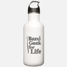 Flute Band Geek Water Bottle