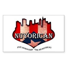 NuYoRicaN Decal