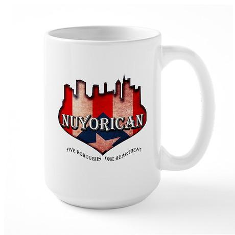 NuYoRicaN Large Mug