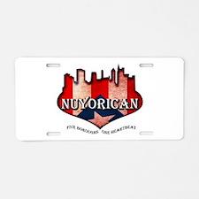 NuYoRicaN Aluminum License Plate