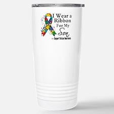 Son - Autism Ribbon Travel Mug