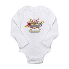 Genius In Training Long Sleeve Infant Bodysuit