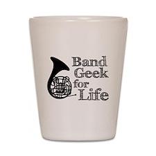 French Horn Band Geek Shot Glass