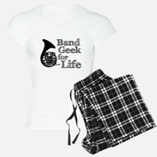 French Horn Band Geek Pajamas