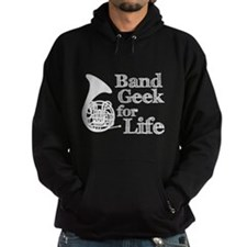 French Horn Band Geek Hoodie