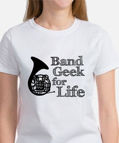 French Horn Band Geek Tee