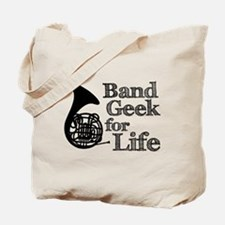 French Horn Band Geek Tote Bag