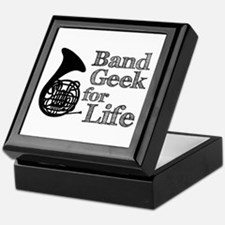 French Horn Band Geek Keepsake Box