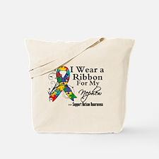Nephew - Autism Ribbon Tote Bag