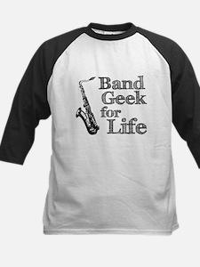 Saxophone Band Geek Tee