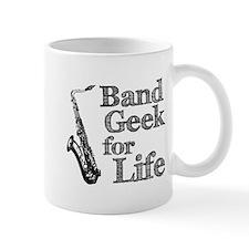 Saxophone Band Geek Mug