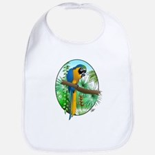 Macaw-BG Bib