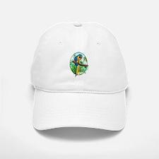 Macaw-BG Baseball Baseball Cap