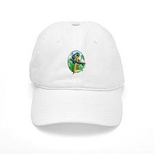 Macaw-BG Baseball Cap