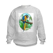 Macaw-BG Sweatshirt