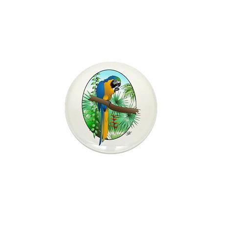 Macaw-BG Mini Button