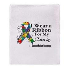 Cousin - Autism Throw Blanket