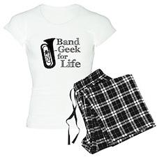 Tuba Band Geek Pajamas