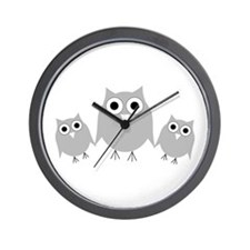 Funny Three little birds Wall Clock