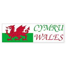 Wales-Bumper Sticker2 Bumper Bumper Sticker