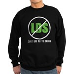 Too Much LDS Sweatshirt (dark)