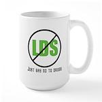 Too Much LDS Large Mug