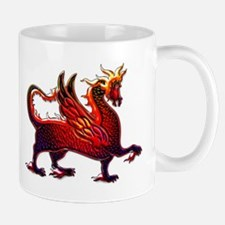 Winged Fire dragon Mug