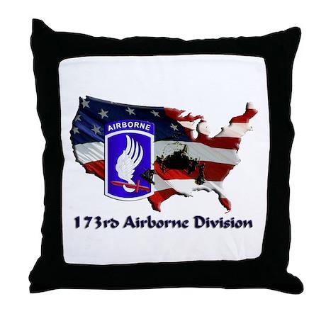 173d Airborne Brigade Throw Pillow