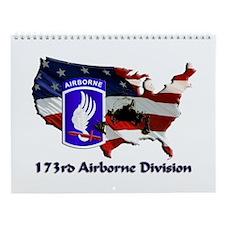 173d Airborne Brigade Wall Calendar