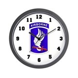 173rd airborne brigade Wall Clocks