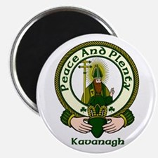 """Kavanagh Clan Motto 2.25"""" Magnet (10 pack)"""