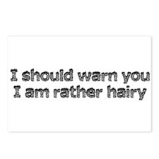 Hairy Situation Postcards (Package of 8)