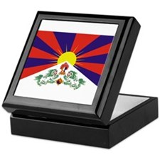 Free Tibet Keepsake Box