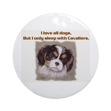 Sleep with Cavs Ornament (Round)