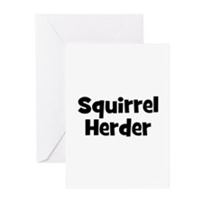 Squirrel Herder Greeting Cards (Pk of 10)