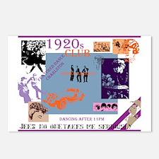 Roaring twenties dream club Postcards (Package of