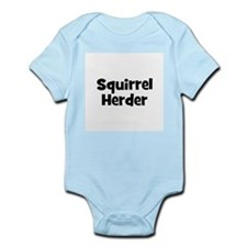 Squirrel Herder Infant Creeper