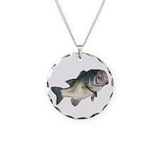 Bass Fisherman Necklace