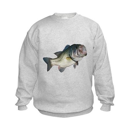 Bass Fisherman Kids Sweatshirt