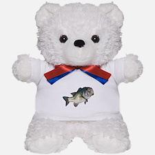 Bass Fisherman Teddy Bear