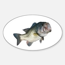 Bass Fisherman Decal