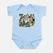 Spingendes Pferd Infant Bodysuit